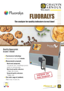 FLUORALYS, the analyzer for quality indicators in real time!